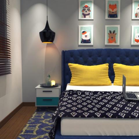 simple design of bedroom