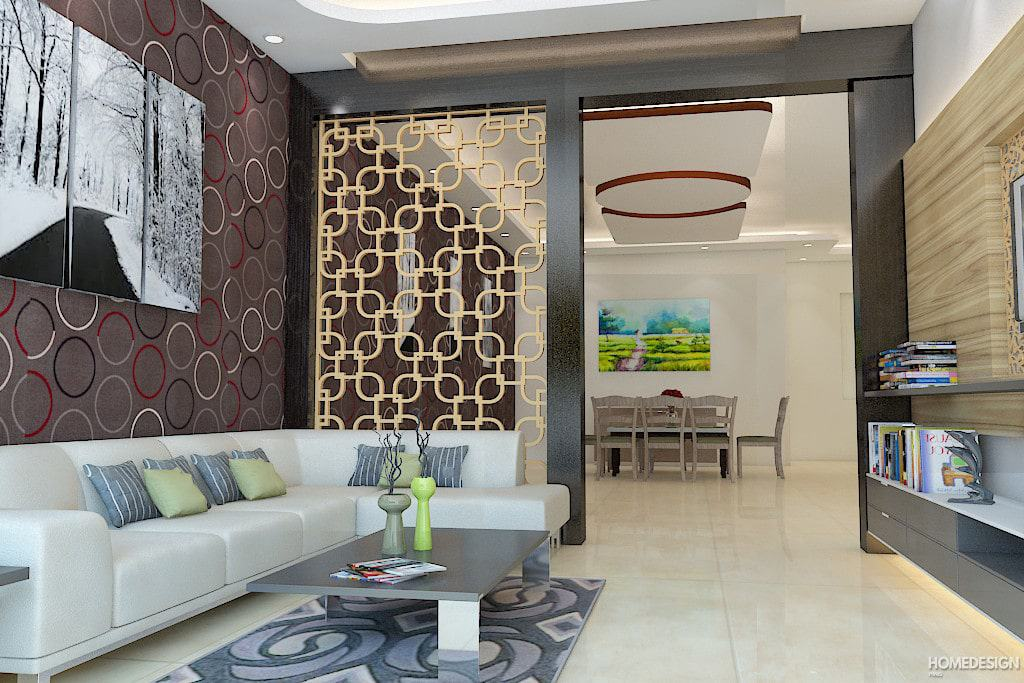 13 Latest False Ceiling Hall Designs With Cost (include 3D ...