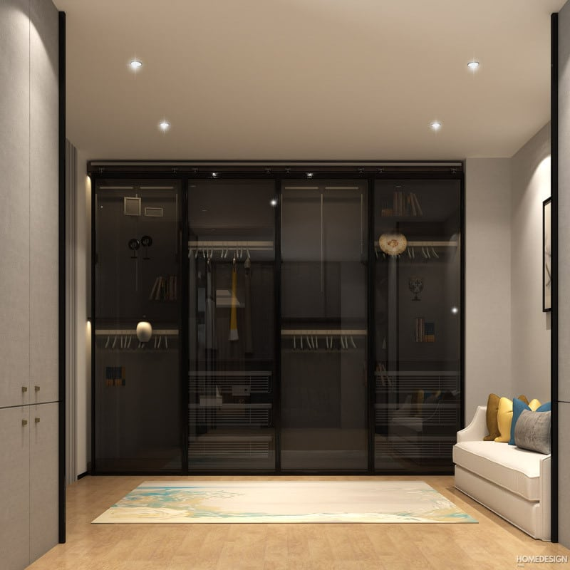 7 Latest Modern Bedroom Cupboard Design (with 3d Views)