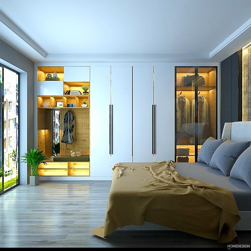 best cupboard design for bedroom