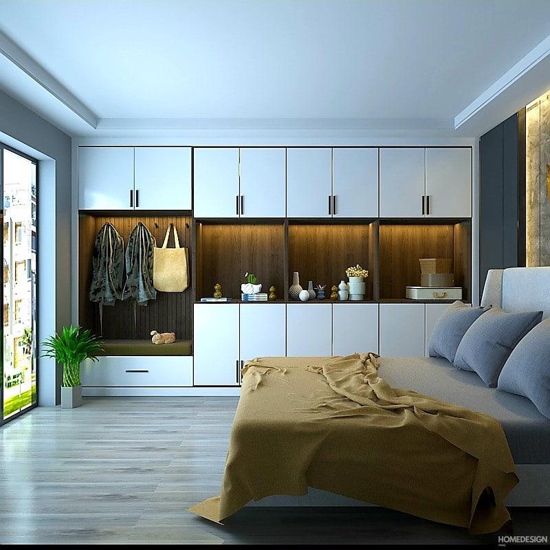latest cupboard design for bedroom