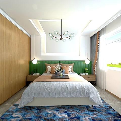 pop false ceiling design bedroom