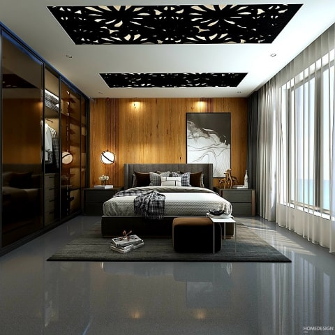 false ceiling design for small rooms