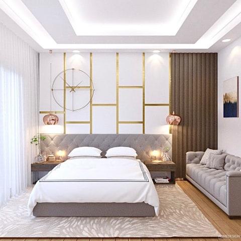 false ceiling design in bedroom