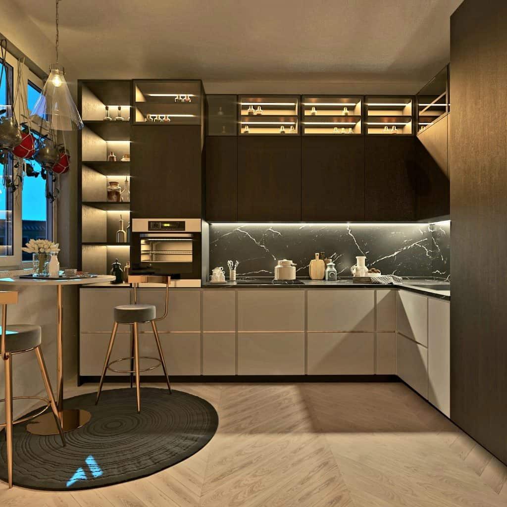 kitchen design lucknow